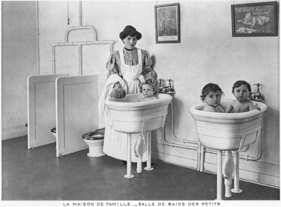 Le site touristique du creusot economie sociale la for Salle de bain maison ancienne