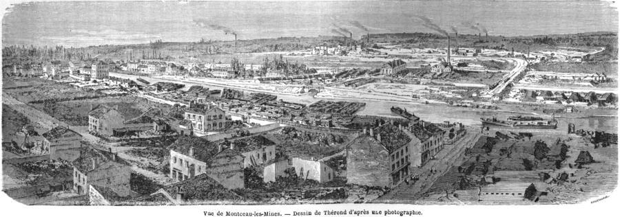 Le site touristique du creusot le tour du monde 1865 for Piscine montceau les mines