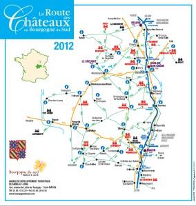 Carte Chateau Bourgogne.Le Site Touristique Du Creusot Telecharger Des Brochures Pdf